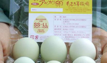 納豆鶏のアルカリ卵
